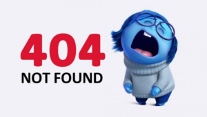 404 error, affiliate product not found
